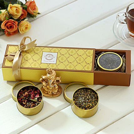 Ganesha & Gift Set of Tea