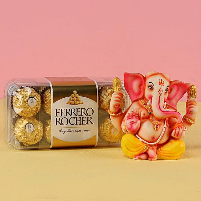 Buy Ganesha Luck With Ferrero Rocher