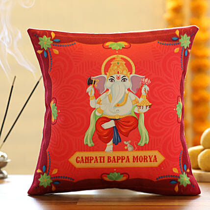 Ganpati Bappa Customised Cushion