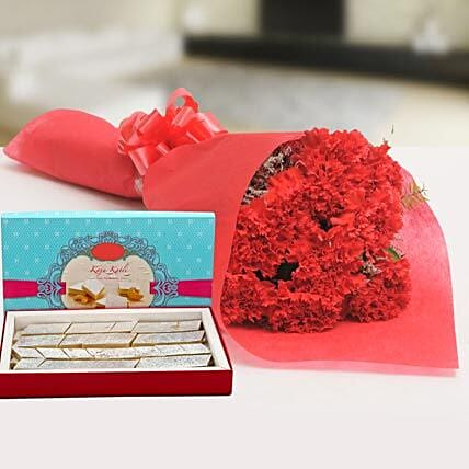 Glamorous Hamper:Send Sweets for Anniversary