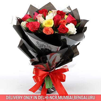 Send Online Glamorous Rose Bouquet