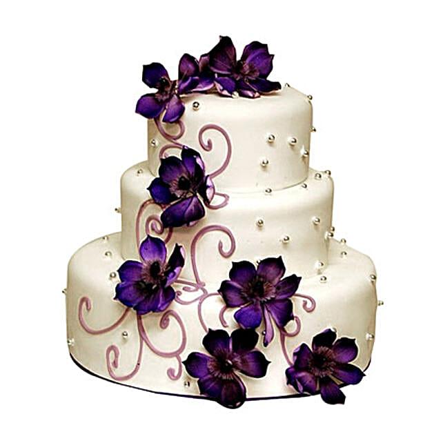 Glamorous Wedding Cake 5kg Gift Glamorous Wedding Cake 5kg