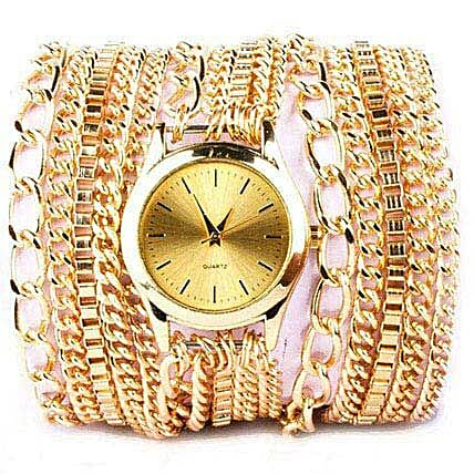 Gold Bracelet Watch for Women