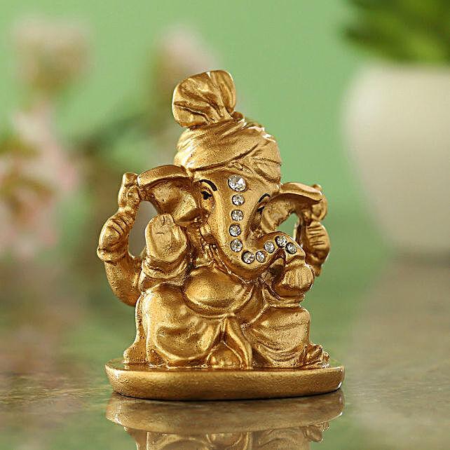 online gold plated ganesha idol