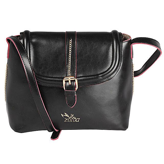 Graceful Black Sling Bag