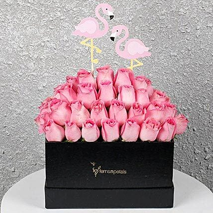 Beautiful Pink Roses:Mothers Day Gifts to Chennai
