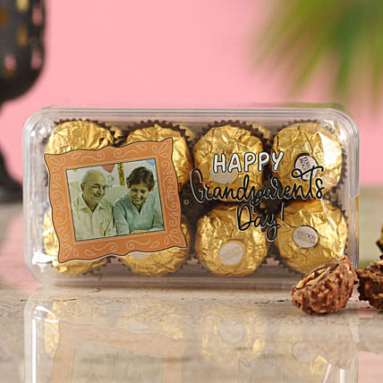 Grandparents Day Personalised Ferrero Box