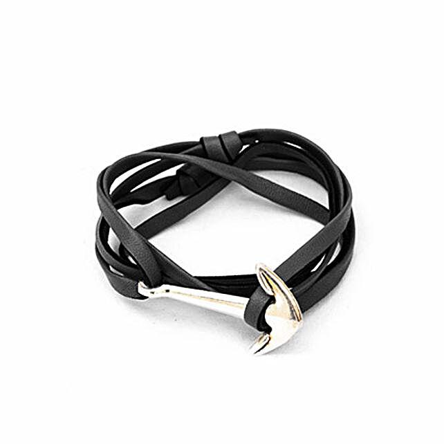 Grey Anchor Bracelet Online