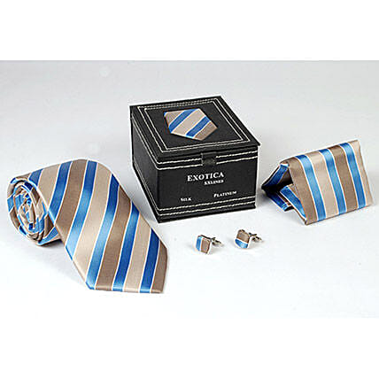 Striped Tie Set