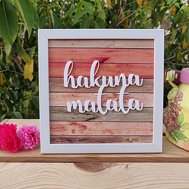 Hakuna Matata:Handicrafts