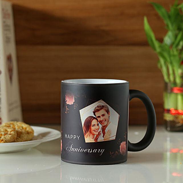 Online Anniversary Personalised Magic Mug