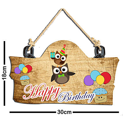 birthday wall hanging