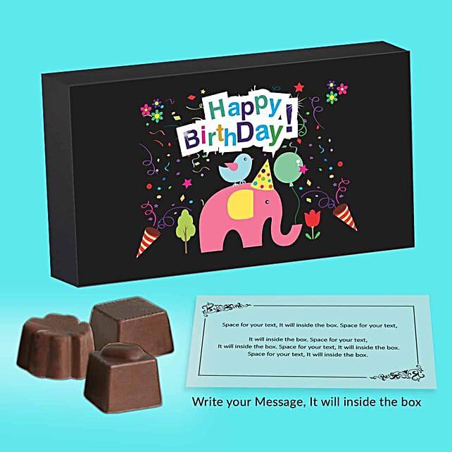 Happy Birthday Personalised Chocolates