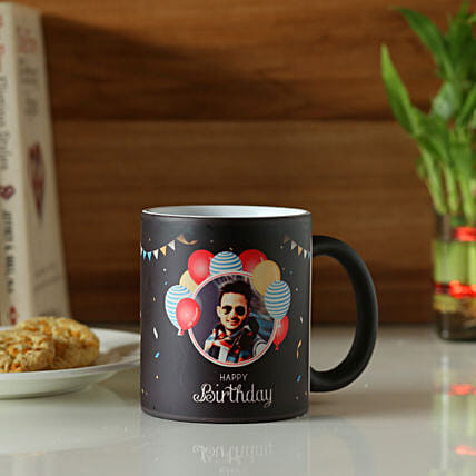 Online Birthday Personalised Magic Mug