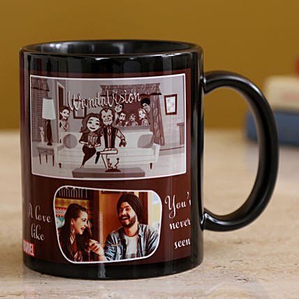 Happy Couple Personalised Mug Hand Delivery