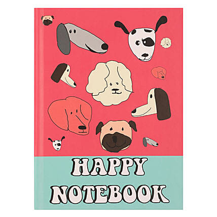 Online Happy Hardcase Notebook
