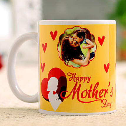 Happy Mother Day Personalised Mug:Send Personalised gifts for Mother's Day