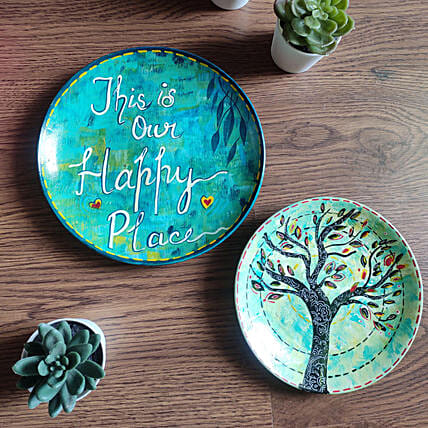 Home Decor Handpainted Wall Plates