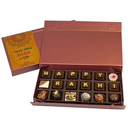 Chocolate Box with Rakhis