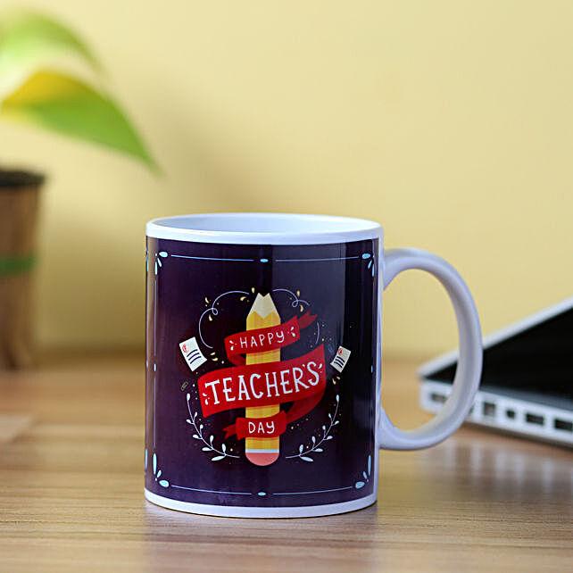 printed mug for teacher on teachers day