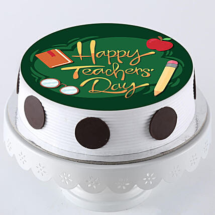 happy teachers day photo cake online:Happy Teachers Day Cake
