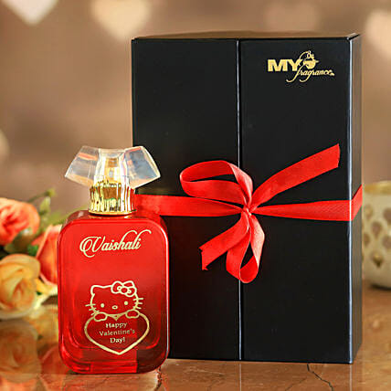 Happy V Day Personalised Night Of Queen Perfume