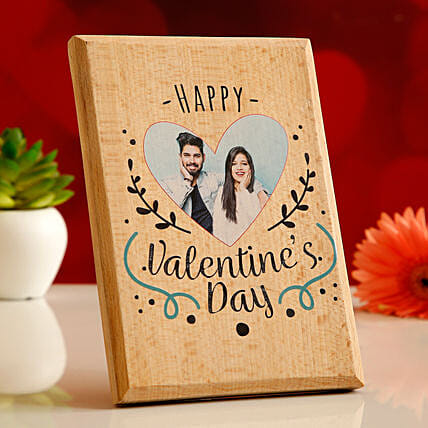 personalised plaque for valentine's day:Valentine Personalised Photo Frames