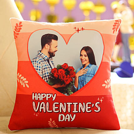 Happy Valentines Personalised Cushion