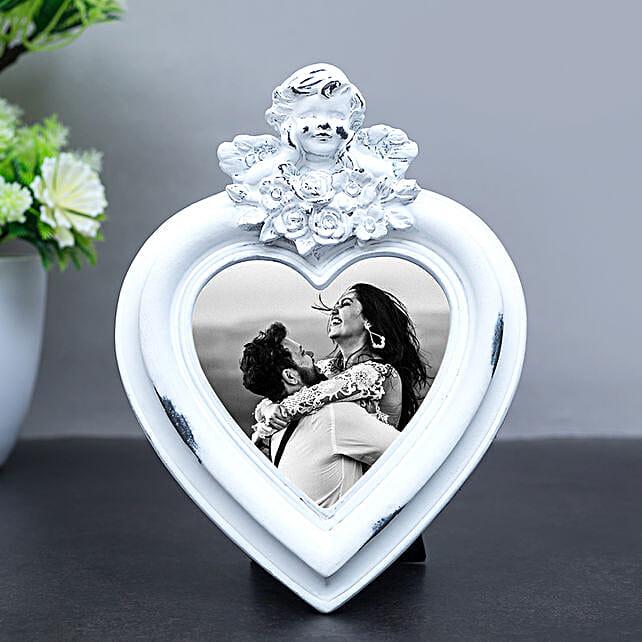 Online Heart Shaped Photo Frame