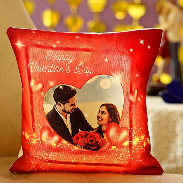 Heartfelt Desires LED Personalised Cushion