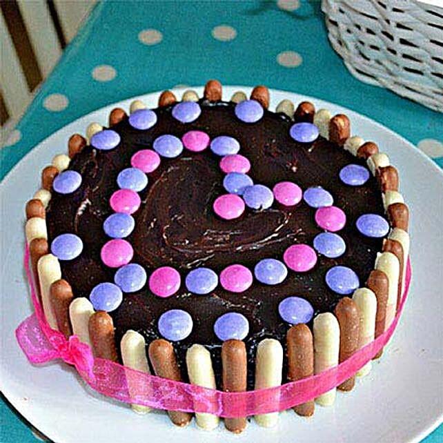 Heartful Delight Cake 1kg Eggless