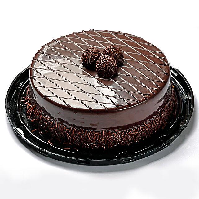 Heavenly Truffle Cream Cake