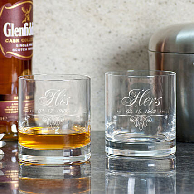 Customised Whiskey Glasses Online
