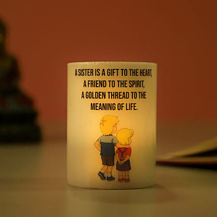Candle for Rakhi Online:Send Candles