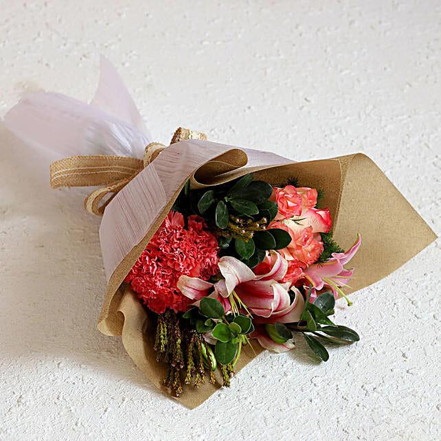 Flower Bouquet for Housewarming