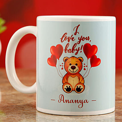 online personalised mug for vday