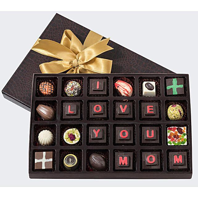 happy mothers day customised chocolates