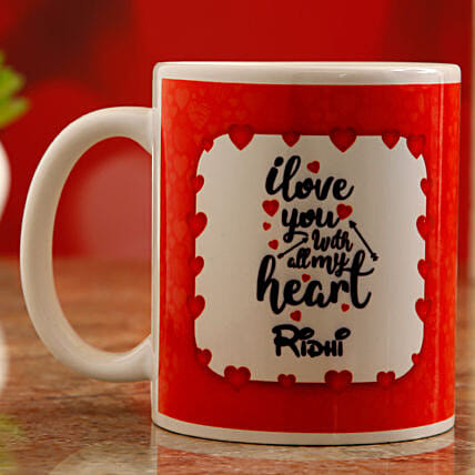 personalised mug for vday online