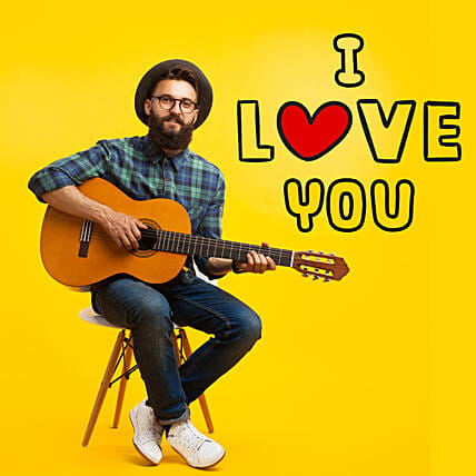 I Love You Romantic Tunes:Guitarist On call