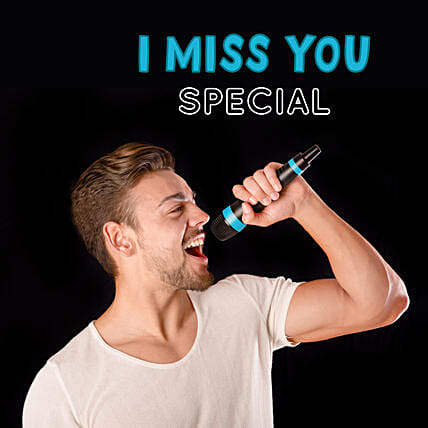 I Miss You Songs By Professional Male Singer:Send Miss You Gifts