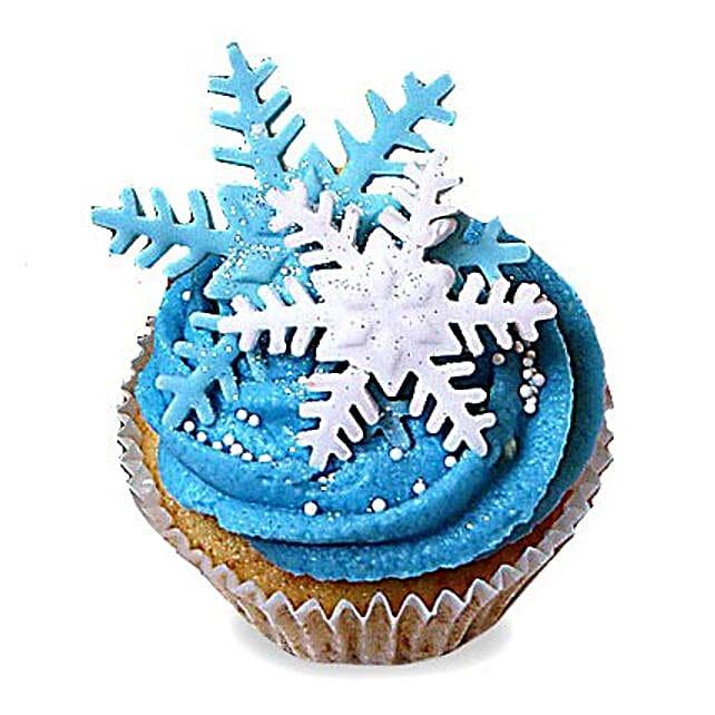 Iced Christmas Cupcakes 24 Eggless