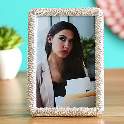 Online Silver Personalised Photo Frame