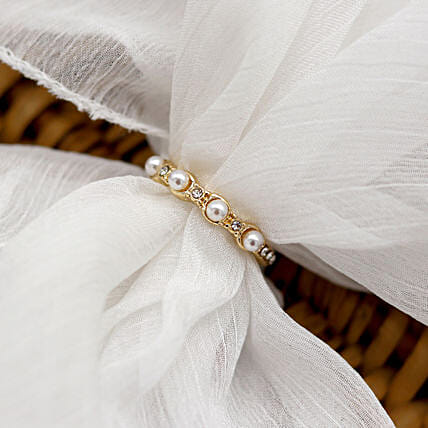 Pearlacent Gold Ring