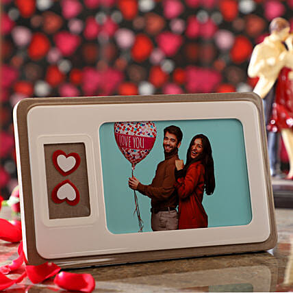 In Love Personalised Photo Frame:Personalised Photo Frames