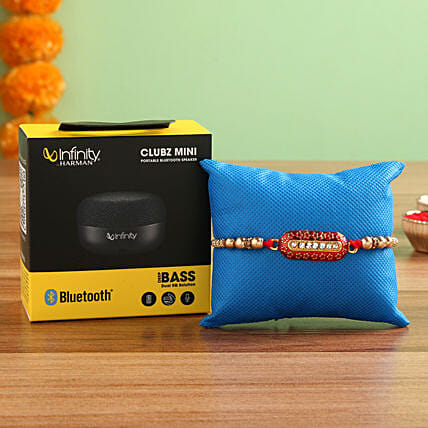 Infinity JBL Bluetooth Speakers Rakhi:Rakhi With Other Gifts