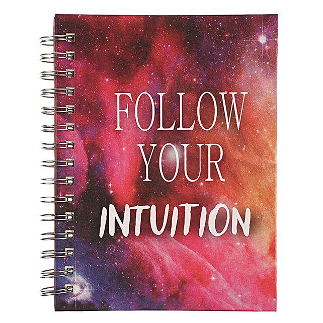 Online Intuition Spiral Notebook