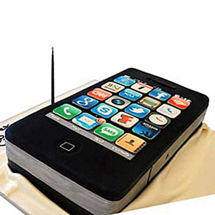 iPhone 4s Cake 3kg Eggless