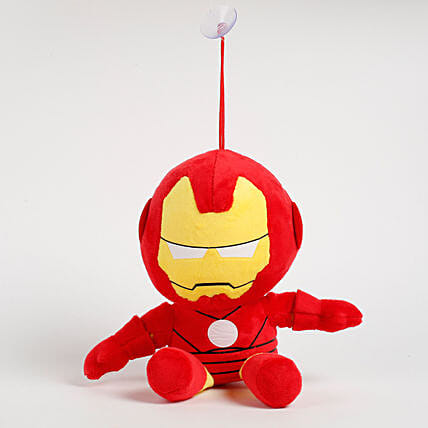Small Iron man soft toy:Soft Toys for Birthday