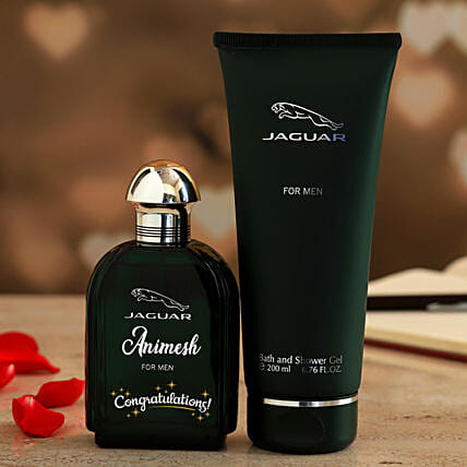 Jaguar Personalised Gift Set For Men