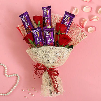 Jute Wrapped Fruit N Nut Bouquet